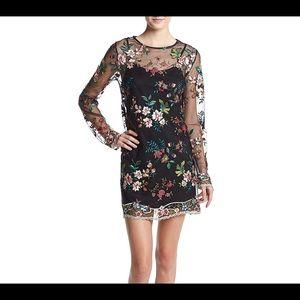 Taylor & Sage Black Embroidered Dress